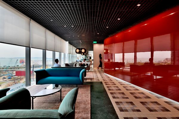 The Work Project designed by HASSELL Singapore